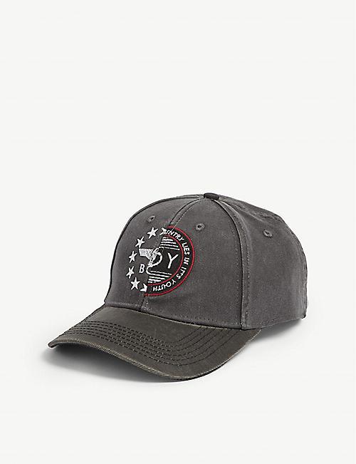 4fd96f5b67e1 BOY LONDON 2 Face cotton snapback cap