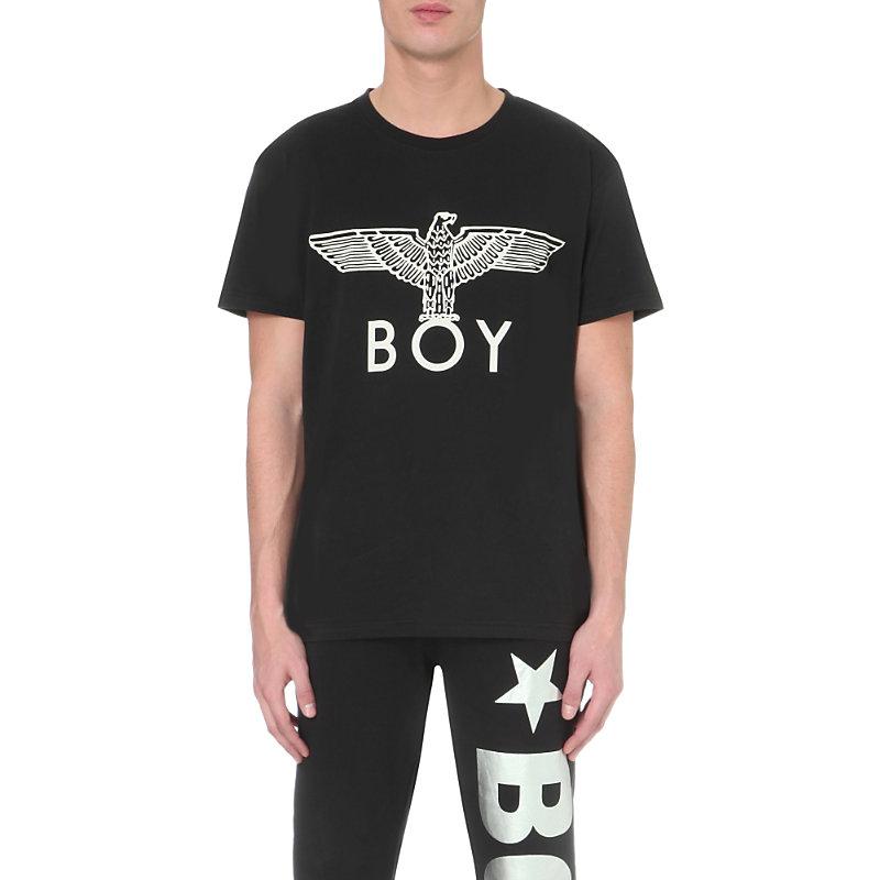 BOY LONDON Boy Eagle T-Shirt in Black