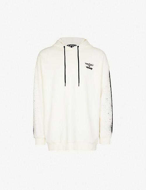 0f305093f0fa BOY LONDON Fake cotton-jersey hoody