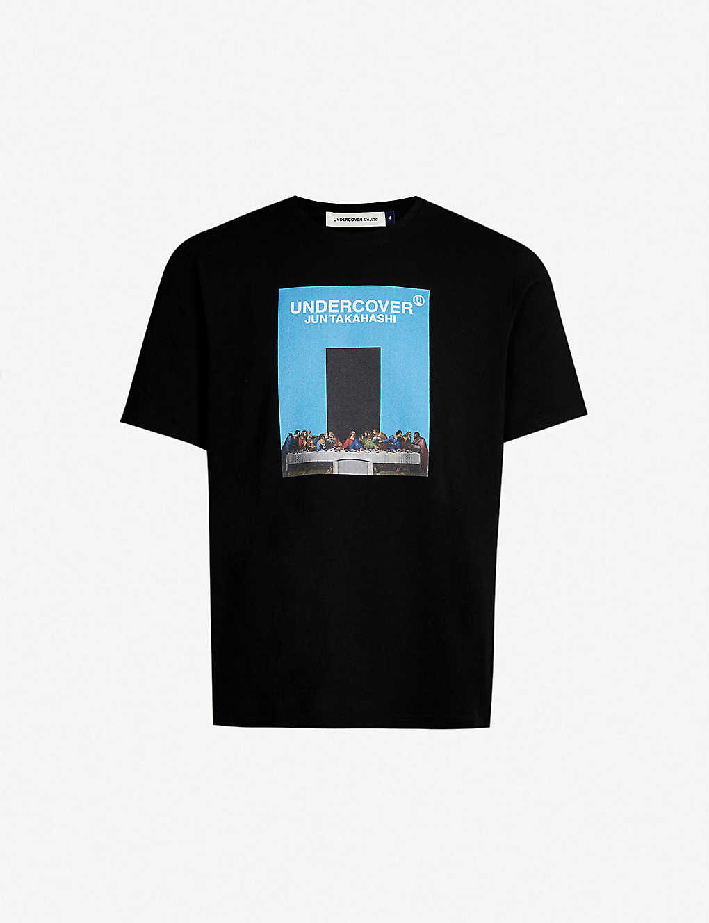 85e70449 UNDERCOVER - The Last Supper-print cotton-jersey T-shirt ...