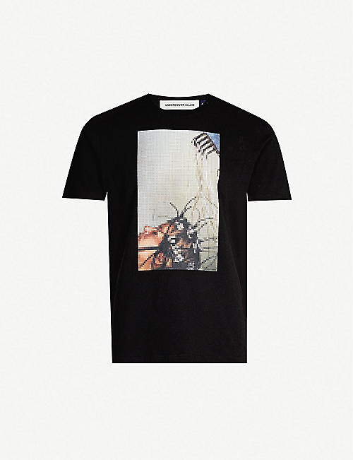 UNDERCOVER Graphic-print cotton-jersey T-shirt