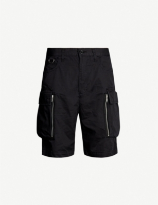 UNDERCOVER Cargo-pocket cotton-jersey shorts
