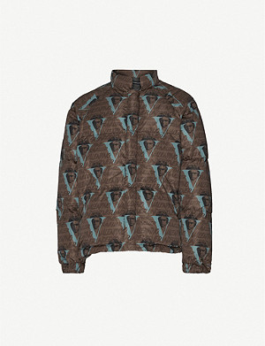 UNDERCOVER Undercover x Valentino face-print shell-down jacket