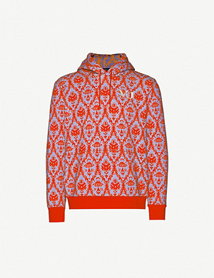 UNDERCOVER Valentino x Undercover UFO-print cotton-jersey hoody