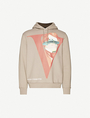 UNDERCOVER Undercover x Valentino graphic-print cotton-jersey hoody