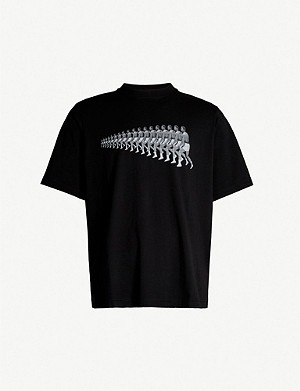 MARCELO BURLON Ali printed cotton-jersey T-shirt