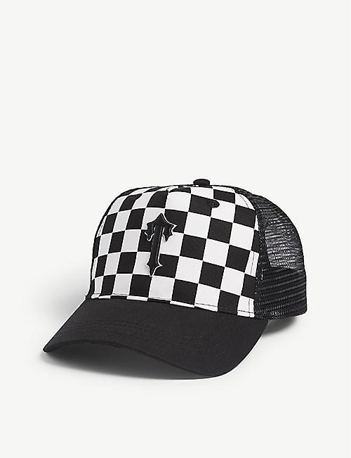 0b8dc2525ac TRAPSTAR Checkered mesh snapback cap