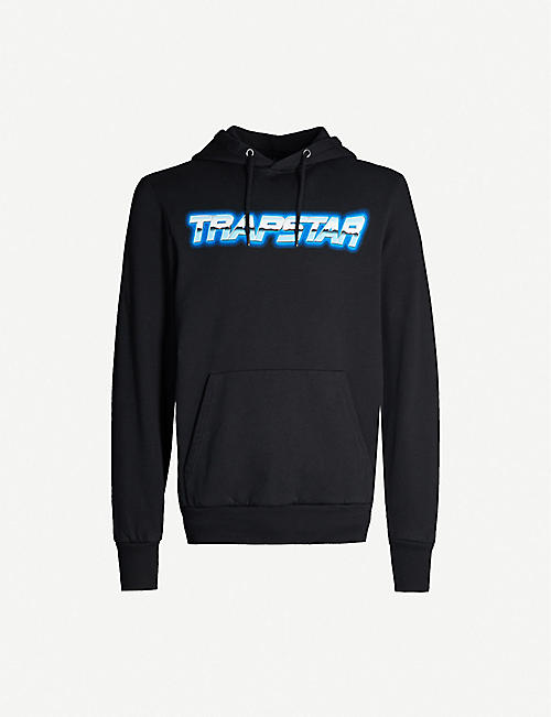 TRAPSTAR Midnight Chrome Racer cotton-jersey hoody