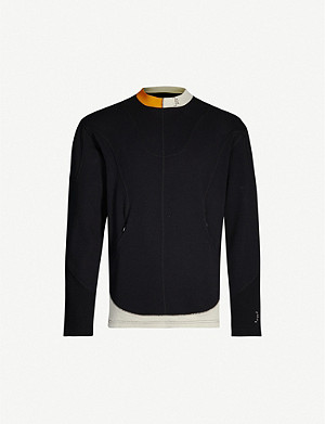 A-COLD-WALL Colour-block cotton jumper
