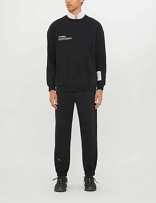 A-COLD-WALL Core cotton-jersey jogging bottoms
