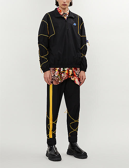ADER ERROR AE funnel-neck shell jacket