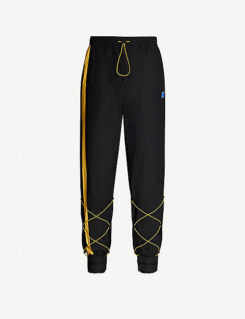 ADER ERROR Adjustable shell jogging bottoms