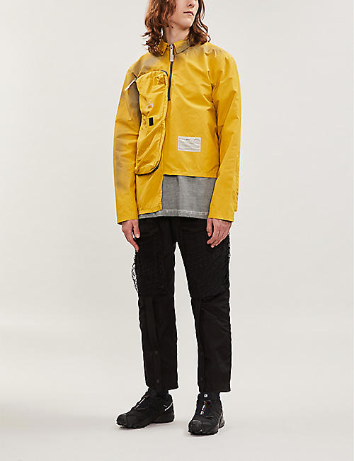 A-COLD-WALL Patch-pocket shell jacket