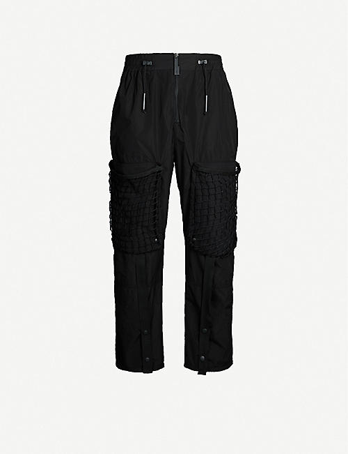 A-COLD-WALL Netted-pocket shell jogging bottoms