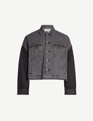 FACETASM Zip-back denim jacket
