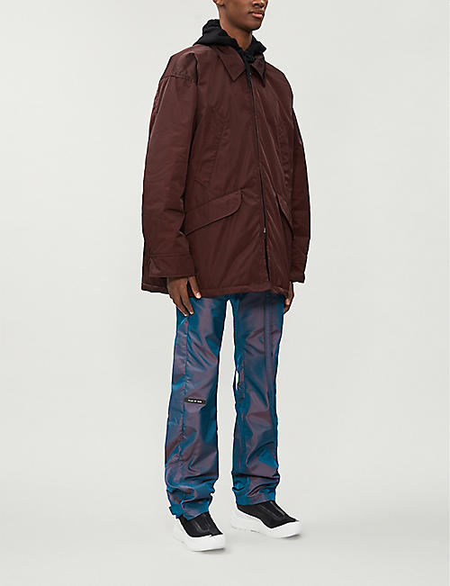FEAR OF GOD Drawstring-waistband relaxed-fit shell trousers