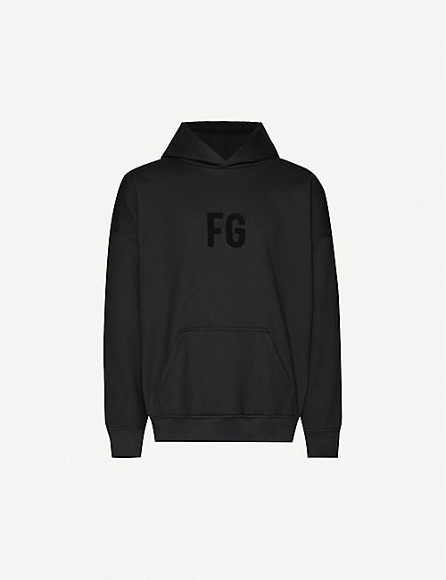 FEAR OF GOD Everyday logo-appliqué cotton-jersey hoody