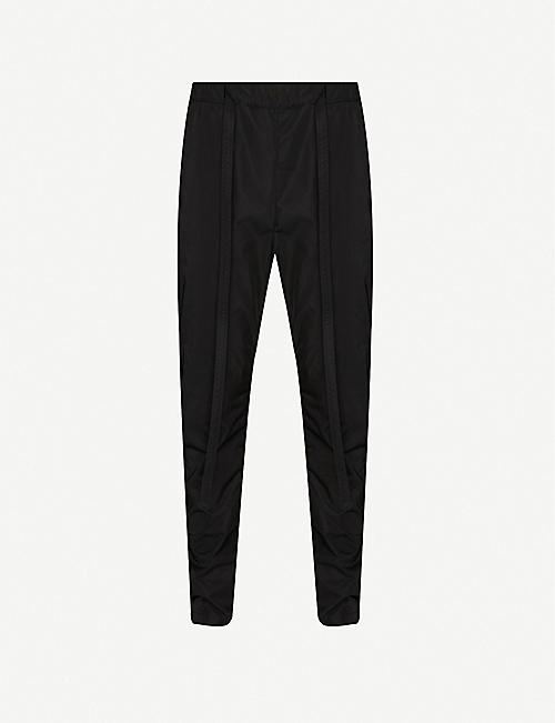 FEAR OF GOD: Skinny shell jogging bottoms