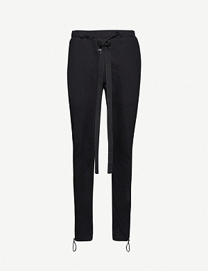FEAR OF GOD Core relaxed-fit cotton-jersey jogging bottoms