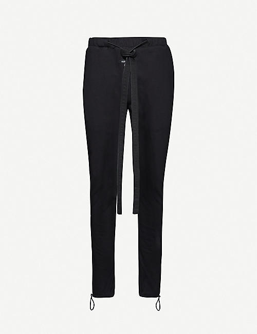 FEAR OF GOD: Core relaxed-fit cotton-jersey jogging bottoms