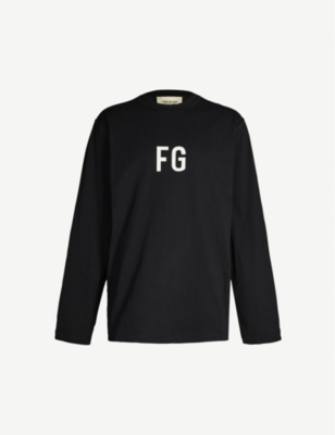 FEAR OF GOD Sixth Collection logo-print cotton-jersey sweatshirt
