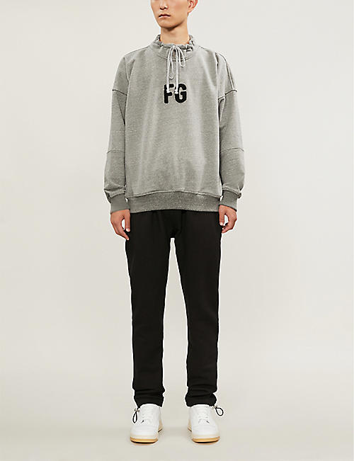 FEAR OF GOD Logo-appliquéd cotton-jersey sweatshirt