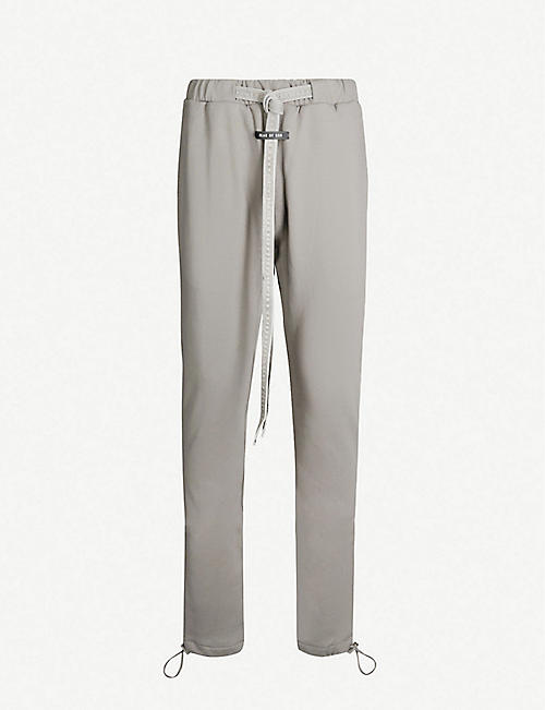 FEAR OF GOD Skinny cotton-jersey jogging bottoms