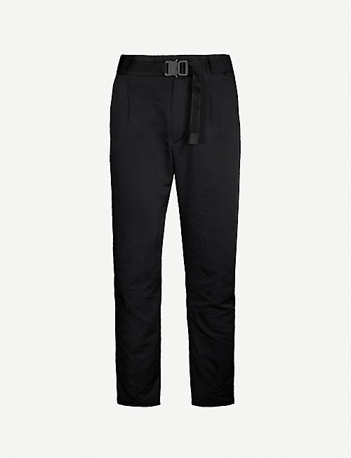 1017 ALYX 9SM Buckled relaxed-fit tapered trousers