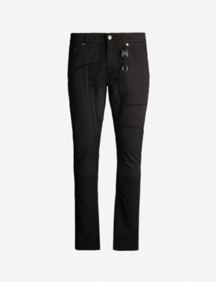 1017 ALYX 9SM Patch slim-fit tapered jeans