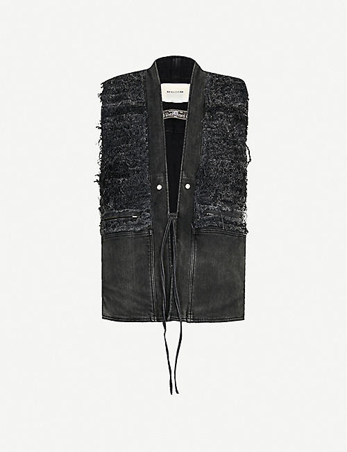 1017 ALYX 9SM Distressed denim gilet