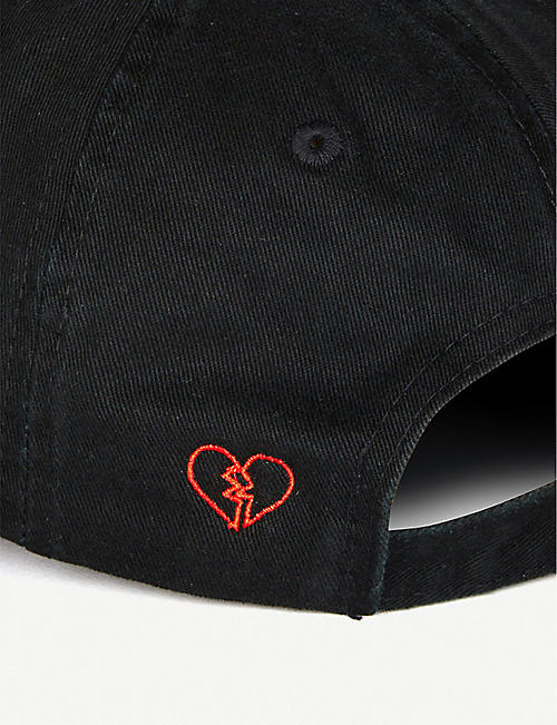 NASASEASONS I Came To Break Hearts canvas baseball cap