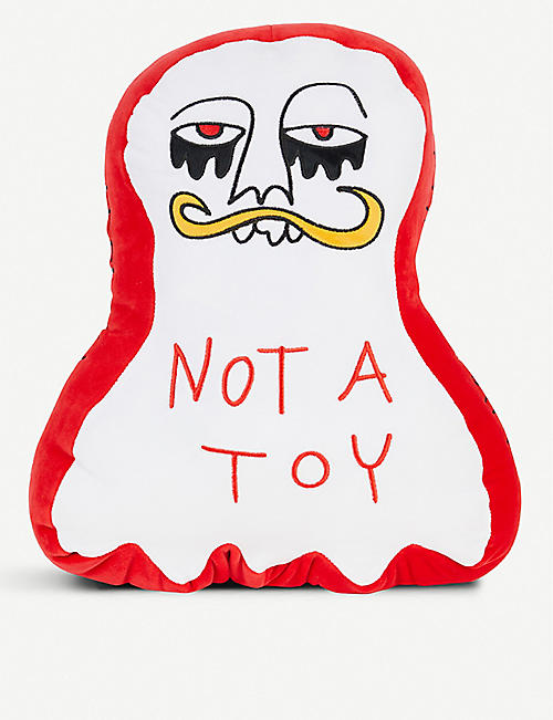 HACULLA Graphic-print soft toy 45cm x 35cm