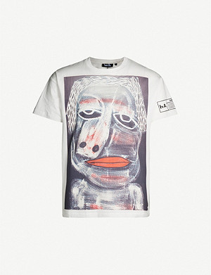 HACULLA Graphic-print cotton-jersey T-shirt