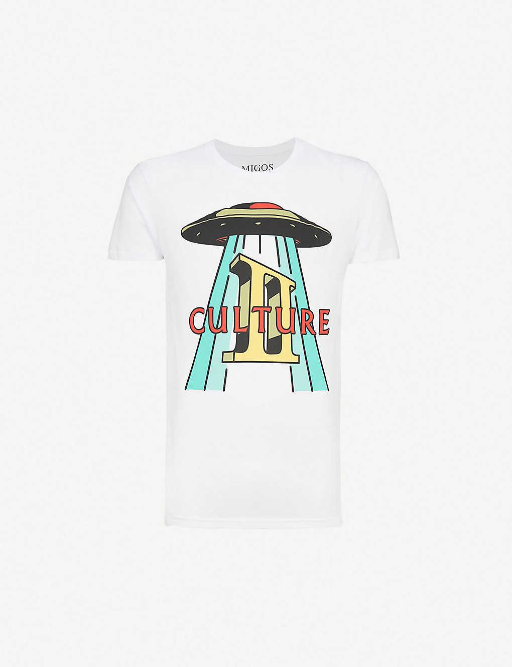 db6535f8 MIGOS - Culture II cotton-jersey T-shirt | Selfridges.com