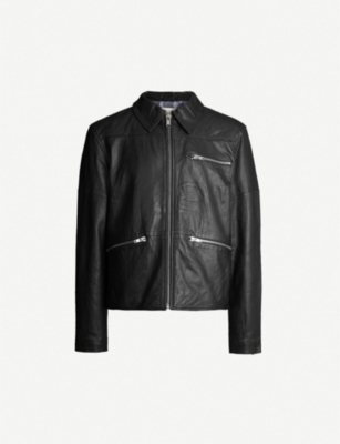 DEADWOOD Samson leather jacket