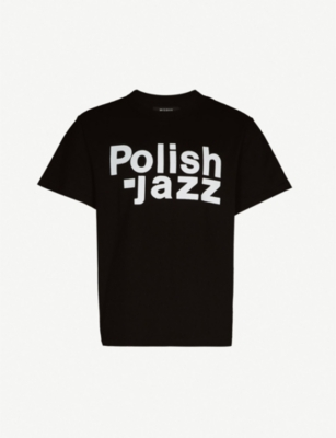 MISBHV Polish Jazz cotton-jersey T-shirt