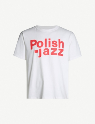MISBHV Polish Jazz-print cotton-jersey T-shirt