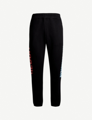 RESORT CORPS Logo-embroidered cotton-blend jogging bottoms