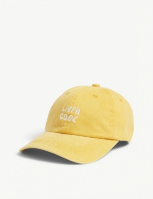 LIVINCOOL Logo cotton baseball cap