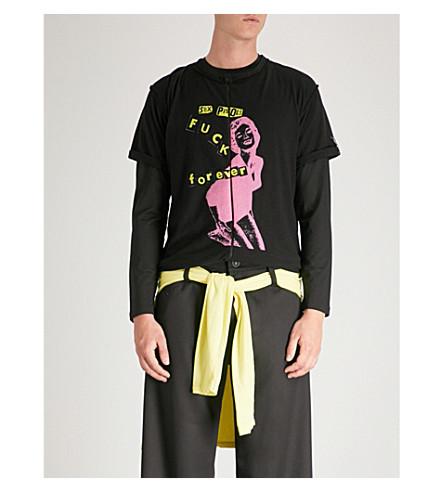 MIDNIGHT STUDIOS Sex Pistols Cotton-Jersey T-Shirt in Black