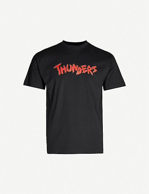 MR THUNDERS Pass It On regular-fit cotton-jersey T-shirt