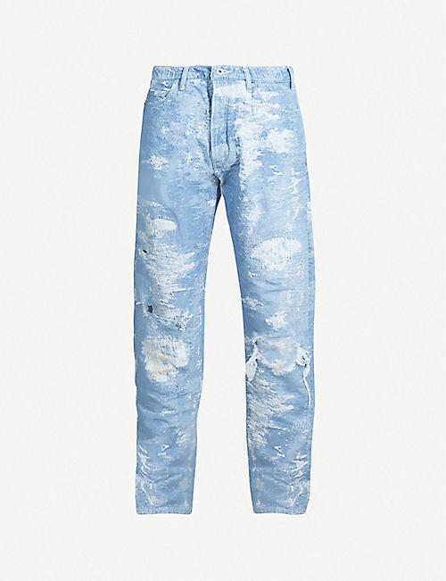TAAKK Ripped straight jeans