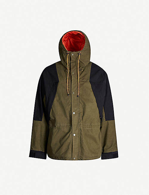 READYMADE Two-tone cotton hooded parka