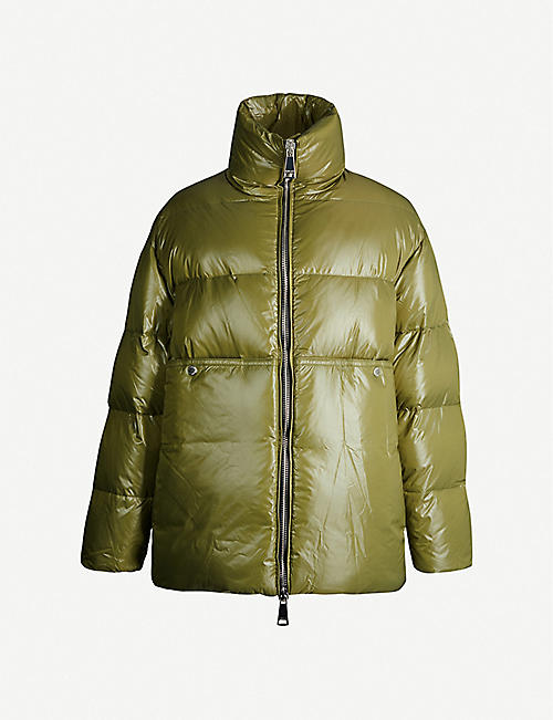 KHRISJOY Oversized shell-down puffer jacket
