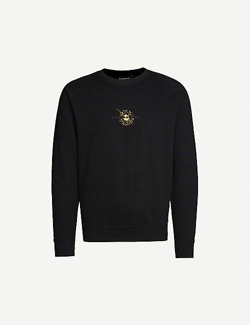 PERMANENT CLOTHING Plasma organic cotton-jersey sweatshirt