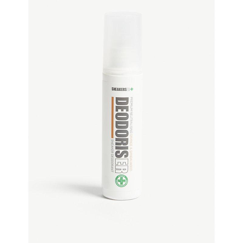 SNEAKERS ER Orange & Sandalwood Premium Neutralising Sneaker Deodorant 75Ml in Orange Sandle