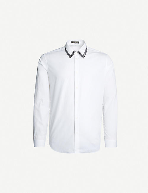 VERSACE - Shirts - Clothing - Mens - Selfridges | Shop Online