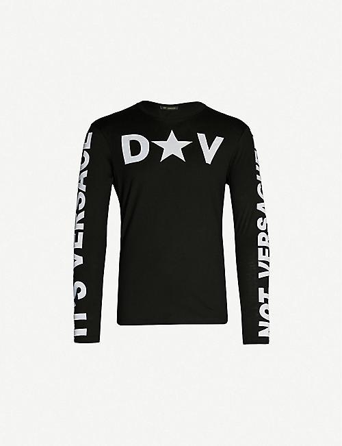 52660d5e424 VERSACE Star cotton-jersey T-shirt