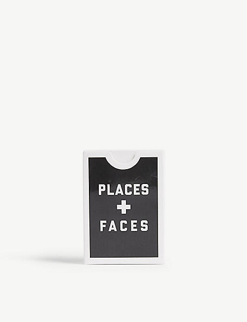 bfcc07adc00 PLACES + FACES Logo playing cards