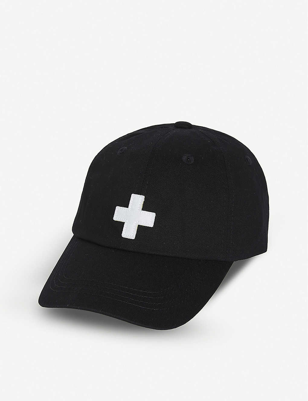 PLACES + FACES: Logo-embroidered cotton baseball cap